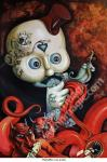 Fabrini Artwork Giclee - What a Hell
