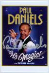 Paul Daniels Autographed Mirror Card (#18)