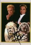 Siegfried and Roy Autographed Mirror Card (#32)