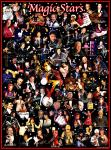Stars of Magic - Nielsen Poster Print