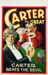 Carter - Beats the Devil- Window Card
